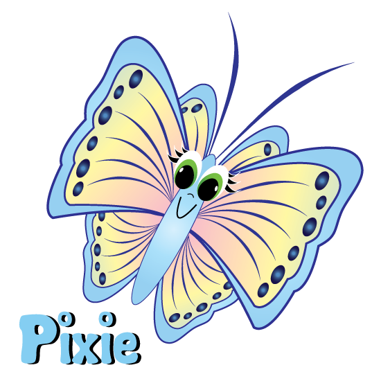 Pixie page link.